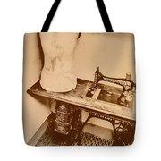 A Dressmakers Corner Tote Bag