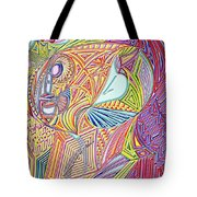 A Drop In The Sea Of Time Tote Bag
