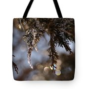 A Drop Of Ice Tote Bag