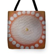 A Drop Of Life Mandala Tote Bag