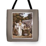 A Druid In His Judicial Habit Tote Bag