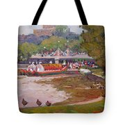 A Duck's View Tote Bag