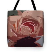 A Dusty Rose-d Tote Bag