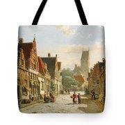 A Dutch Street In Summer Tote Bag