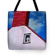A Face At The Window Tote Bag