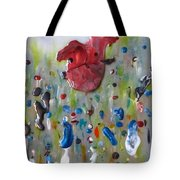 A Face In The Crowd Tote Bag