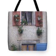 A Face In The Window Tote Bag