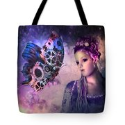 A Fairy Butterfly Kiss Tote Bag