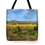 A Fall Day In The Sierras Tote Bag