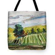 A Fall Day In The Townships Tote Bag