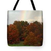 A Fall Rainbow Tote Bag
