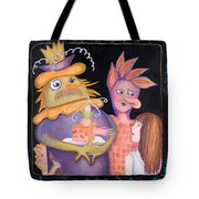 A Family Of New Friends Tote Bag