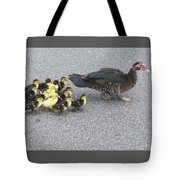 A Family Outing  Tote Bag