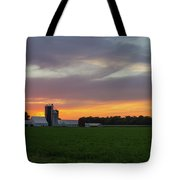 A Farm Sunset Tote Bag