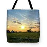 A Farmer's Morning 2 Tote Bag