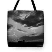 A Farmer's Sunrise Tote Bag