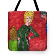 A Fashion Kick  Tote Bag