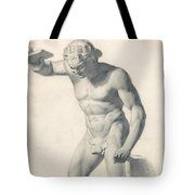 A Faun With Pipes Tote Bag