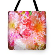 A February Abstract Tote Bag