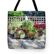 A Few Well Placed Pots Tote Bag