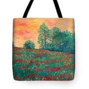 Field Of Beauty Tote Bag