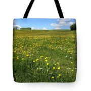 A Field Of Buttercups Tote Bag