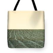 A Field Stitched Tote Bag