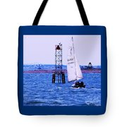 A Fine Day For A Sail Tote Bag