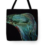 A Fish Called Poe 2 Tote Bag