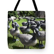 A Flock Of Decoys Tote Bag