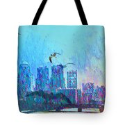 A Flock Of Seagulls Tote Bag