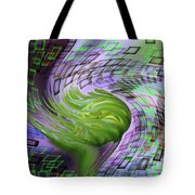 A Flower In The Sound Of Wind  Tote Bag