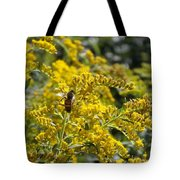A Flower That Bees Prefer Tote Bag by Guy Ricketts