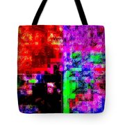A Forest Of Abstraction Tote Bag
