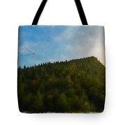 A Forested Dune... Tote Bag