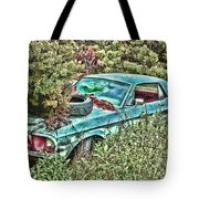 A Forgotten Mustang Tote Bag