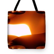 A Fractual Sunrise  Tote Bag
