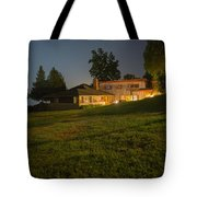 A Frank Lloyd Wright Home On Lake Champlain Tote Bag