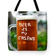 A Friendly Beer Tote Bag