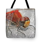 A Friendly Red Dragon Tote Bag