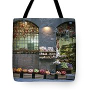 A Fruit And Vegetable Shop In Siena Tote Bag