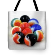 A Fun Game Of Marbles Tote Bag
