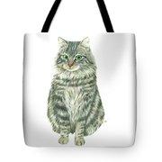 A Furry Cat  Tote Bag