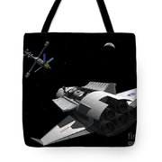 A Future Generation Space Shuttle Tote Bag