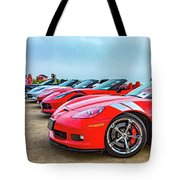 A Gaggle Of Vettes Tote Bag