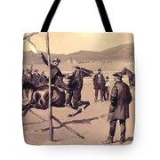 A Gander Pull 1894 Tote Bag