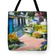 A Garden In Harmony Tote Bag