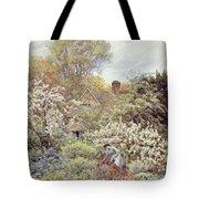 A Garden In Spring Tote Bag