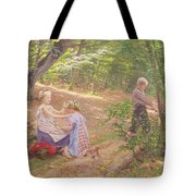 A Garland Of Flowers Tote Bag