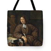 A Gentleman At His Desk Tote Bag